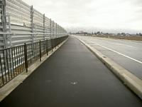 平成21年度一般国道287号長井南BP防雪柵<br /> 設置工事(第2工区)
