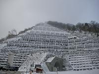 長井ダム右岸雪崩予防柵設置工事