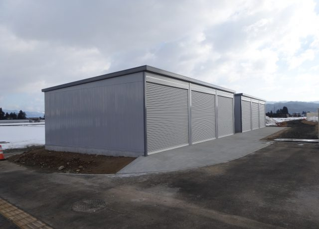 生涯学習プラザ陸上競技場倉庫新築工事
