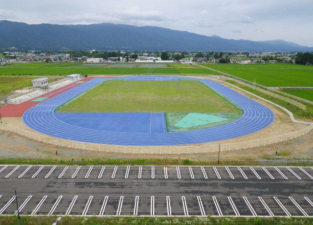 長井市生涯学習プラザ運動公園陸上競技場整備工事