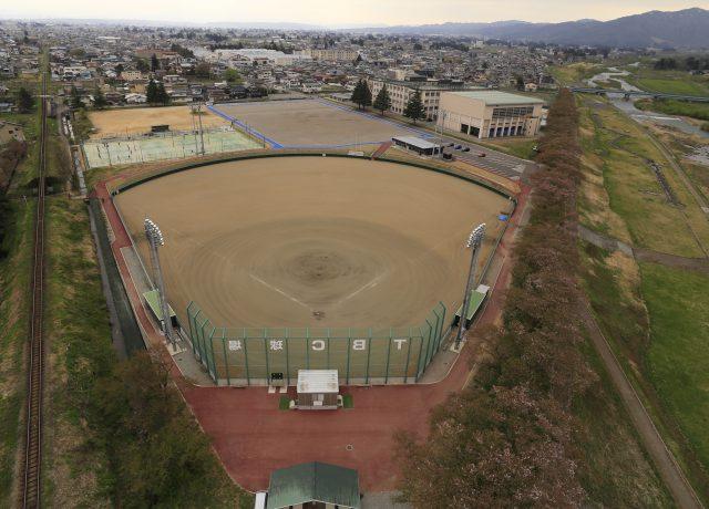 長井市野球場改修工事